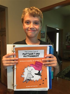 Congratulations, Connor, for finishing Muttzart and Ratmoninoff!